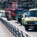 Bilkrock på Liljeholmsbron – en skadad