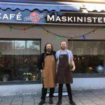 Café Maskinisten nystartar med vin till maten