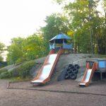 Lekplatsen  i Långbro park får nytt liv