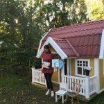 Lekstugan blev ett poetiskt barnbibliotek