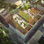Nytt kvarter med 500 lägenheter tar form