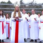 Video: Stämningsfullt luciafirande i Vinterviken