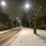 SMHI varnar för ymnigt snöfall
