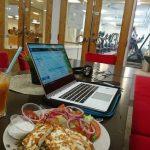 Bättre stadsdel testar: Nyöppnat kafé med gott om plats för att jobba