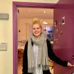 Mikaela flyttar in i nya Årstadal studenthus