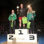 Juniorbrottaren Elin från Mälarhöjden tog SM-silver