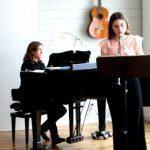 Musikelever gästspelade på kajen
