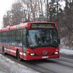 Buss 135 kan förlängas till Liljeholmen
