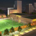 Byggstart för nya idrottshallar i Älvsjö