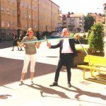 Sommargågatan i Midsommarkransen invigd