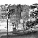 Spårvagnsspåret i Mälarhöjden som blev Krausparken