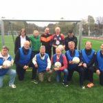 Premiär för gåfotboll på Solberga Bollplan
