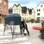 Konstgalleriet på hjul rullar ut i Midsommarkransen
