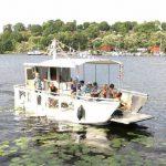 Åk gratis båt till Årsta holmar