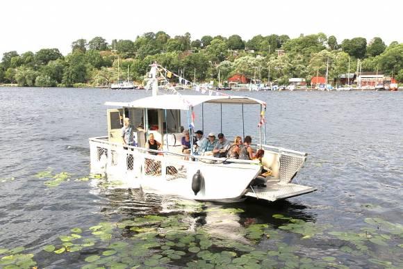 båt Årstaholmar