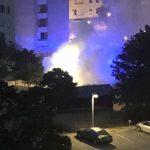 Video: Ny bilbrand i Nybohov – räddningstjänsten släckte snabbt