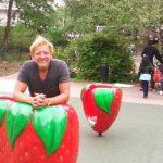 Han är skaparen av Fruktparken