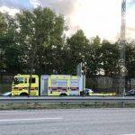 Trafikolycka på E4/E20 – långa köer