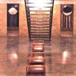 Första konstutställningen i Uppenbarelsekyrkans gravvalv