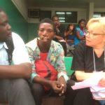 Så jobbar Årstadalsbon Liisi Raud Westberg som volontär i Ghana