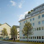 Förslag: Här är nya kvarteret i Västertorp – med lägenheter på hotelltaket