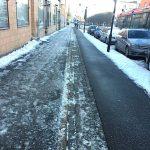 Insändare: Varför snöröjs det inte på samma effektiva sätt för både cyklister och fotgängare?