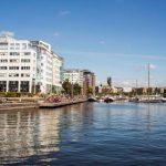 Börsnoterad miljardkoncern flyttar till Marievik