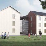 Byggplanering igång av modulhus för nyanlända – grannar kritiska till platsen