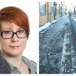 Trafikkontoret: Därför snöröjs cykelbanor och trottoarer olika
