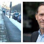 Daniel Helldéns nya mål: Fler gångtrafikanter ska få bättre vinterväghållning