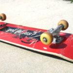 Polis tog misstänkt narkotikapåverkad skateboardåkare