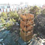 Park i Liljeholmen kan bli Årets Stockholmsbyggnad