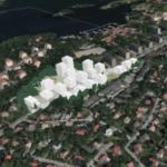 Här är nya förslaget med 560 lägenheter i Axelsberg