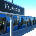 T-banetåg spårade ur i Fruängen