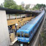 Ungdomar åkte utanpå t-banetåg – blev filmade