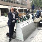 Hornstull får första hotspoten för elsparkcyklar
