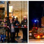 Bilder: Folkfest när blytunga transporten rullar genom stadsdelen