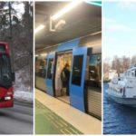 Ny busslinje, mer t-tåg och båtar i SL:s nya tidtabell