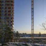Nu startar byggandet av Ikano Bostads sista höghus i Årstahusen