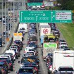 Trafiken minskar i Stockholm