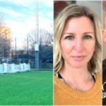 Fotbollstränare stoppar större rivning av Axelsbergs BP