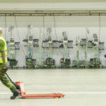 Bilder: Se hur nya fältsjukhuset i Älvsjö växer fram