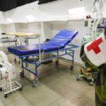 Fältsjukhuset i Älvsjö öppnas