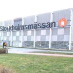 Stockholmsmässan görs om till fältsjukhus