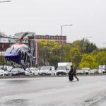 Bilder: Polisens nationella specialstyrka övar i Liljeholmen