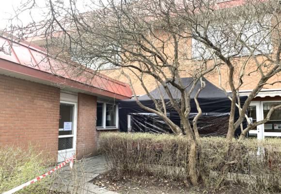 Infektionsmottagning Satts Upp I Talt Vid Axelsbergs Vardcentral Battre Stadsdel