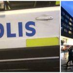 Stort slagsmål på torget i Liljeholmen