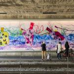 Nytt konstverk i Liljeholmen invigdes