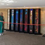 Nya mosaikfönster hittat till Uppenbarelsekyrkan