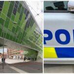 Misstänkt skottlossning vid Älvsjö station